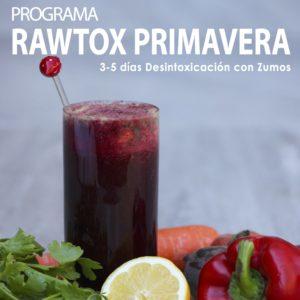 programa detox de zumos primavera
