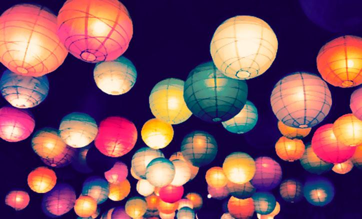 luces colores
