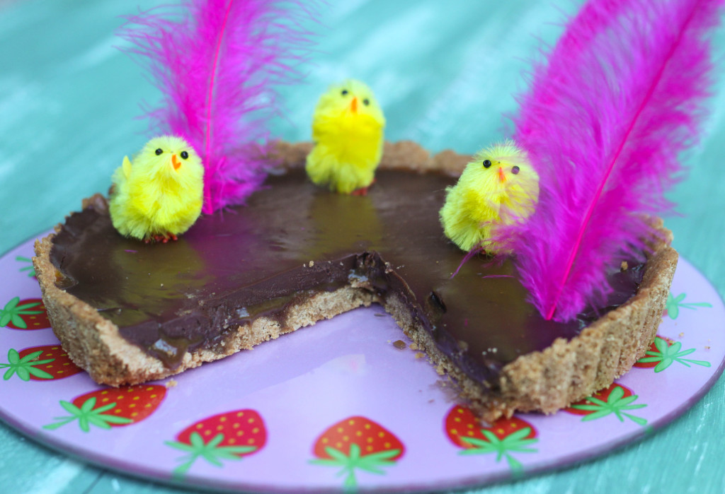 mona de pascua vegana pastel de chocolate vegano