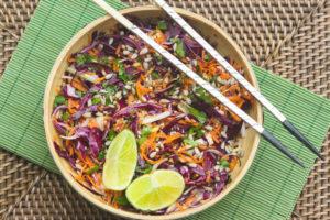 ensalada thai mijo detox ayurvedico primavera